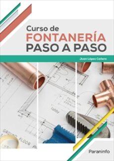 Enlace de descarga de libros gratis CURSO DE FONTANERÍA PASO A PASO