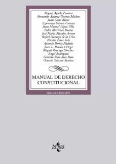 Permacultivo.es Manual De Derecho Constitucional Image