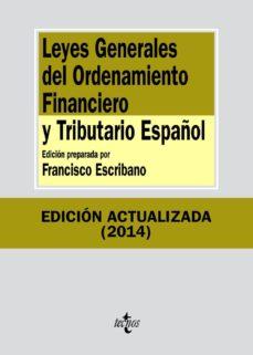 Emprende2020.es Leyes Generales Del Ordenamiento Financiero Y Tributario Español (8ª Ed.) Image