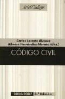 Curiouscongress.es Codigo Civil (3ª Ed.) Image
