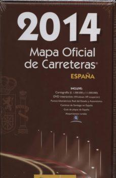 Trailab.it Mapa Oficial De Carreteras España 2014 (Incluye Dvd) Image