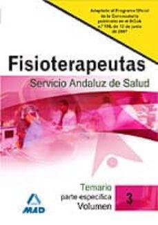 Curiouscongress.es Fisioterapeutas Del Servicio Andaluz De Salud, Temario Parte Espe Cifica (Volumen Iii) Image