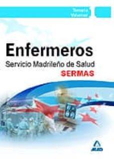 Followusmedia.es Enfermeros Del Servicio Madrileño De Salud (Sermas): Temario Volu Men I (Parte General) Image