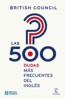 Descargar LAS 500 DUDAS MAS FRECUENTES DEL INGLES gratis pdf - leer online