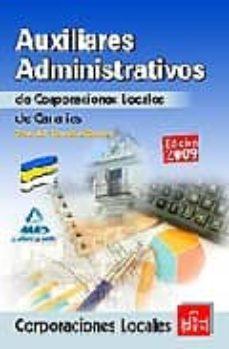 Geekmag.es Auxiliares Administrativos De Corporaciones Locales De Canarias. Test Del Temario General Image