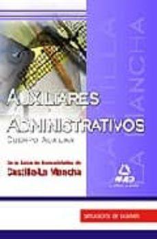 Javiercoterillo.es Auxiliares Administrativos (Cuerpo Auxiliar) De La Junta De Comun Idades De Castilla-la Mancha: Simulacros De Examen Image