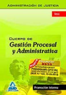 Encuentroelemadrid.es Test Cuerpo De Gestion Procesal Y Administrativa De La Administra Cion De Justicia (Promocion Interna) Image