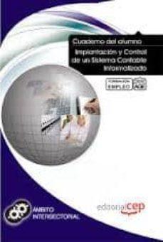 Costosdelaimpunidad.mx Cuaderno Del Alumno Implantacion Y Control De Un Sistema Contable Informatizado. Formacion Para El Empleo Image