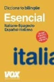 Titantitan.mx Diccionario Bilingüe Esencial Vox Italino-spagnolo / Español-ital Iano Image