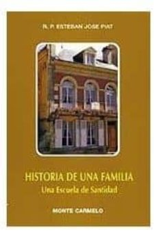 historia de una familia: una escuela de santidad-stephane joseph piat-9788472398214