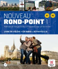 Ebooks gratis descargar formato epub NOUVEAU ROND-POINT 1 (A1-A2) LIVRE DE L ELEVE (+CD) FB2 CHM PDF