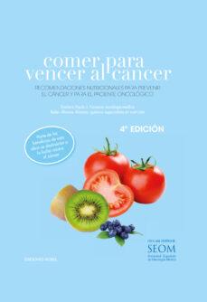 comer para vencer al cancer-paula jimenez fonseca-belen alvarez alvarez-9788484596714