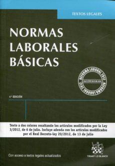 Viamistica.es Normas Laborales Basicas 4ª Edicion Image