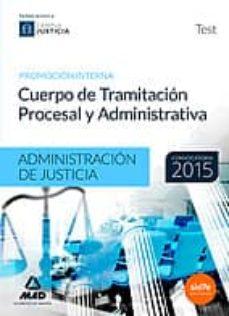 Trailab.it Cuerpo De Tramitación Procesal Y Administrativa (Promoción Interna) De La Administración De Justicia. Test Image
