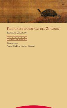 ficciones filosóficas del zhuangzi-romain graziani-9788498797114