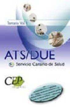 Padella.mx Temariovol. I. Oposiciones Ats/due Servicio Canario De Salud Image