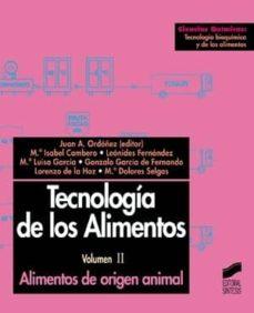 tecnología de los alimentos. alimentos de origen animal (ebook)-9788499582214