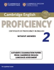 Descargar libros a ipad mini CAMBRIDGE ENGLISH PROFICIENCY 2 STUDENT S BOOK WITHOUT ANSWERS