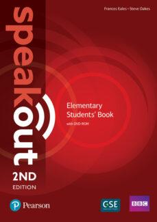 Descarga gratuita de libros alemanes. SPEAKOUT ELEMENTARY 2ND EDITION STUDENTS  BOOK AND DVD-ROM PACK (Spanish Edition) 9781292115924 de