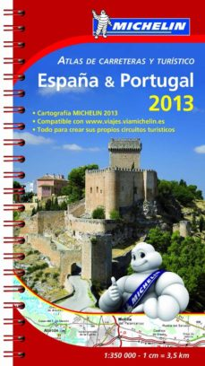 ATLAS DE CARRETERAS Y TURISTICO ESPAÑA Y PORTUGAL 2013