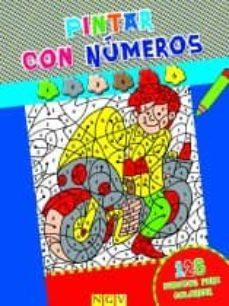 Permacultivo.es Pintar Con Numeros (Azul) Image