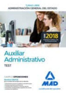 Padella.mx Auxiliar Administrativo De La Administracion General Del Estado (Turno Libre). Test Image