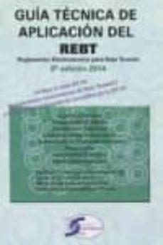 Descargar GUIA TECNICA DE APLICACION REBT gratis pdf - leer online