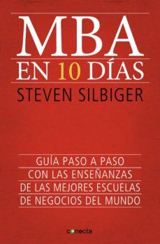 mba en 10 días (ebook)-steven silbiger-9788415431824