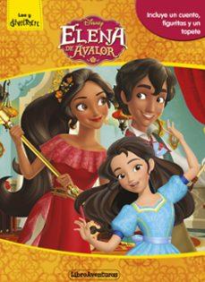 Enmarchaporlobasico.es Elena De Avalor. Libroaventuras: Libro-juego. Incluye Un Tablero Y Figuras Para Jugar Image