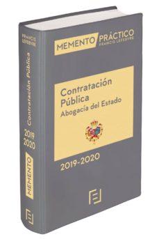 Descargar MEMENTO CONTRATACION PUBLICA ABOGACIA DEL ESTADO 2019-2020 gratis pdf - leer online