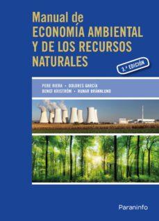 manual de economia ambiental y de los recursos naturales (3ª ed.)-9788428398824