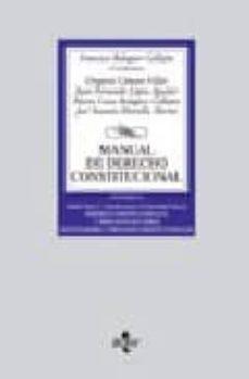 Ironbikepuglia.it Manual De Derecho Constitucional (Vol. Ii): Derechos Y Libertades Fundamentales. Deberes Constitucionales Y Principios Rectores. Instituciones Y Organos Constitucionales (2ª Ed.) Image