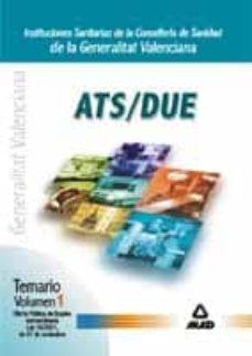 Inmaswan.es Ats/due De Instituciones Sanitarias De La Conselleria De Sanidad De La Generalitat Valenciana (Vol. I): Temario Ope Extraordinaria Image