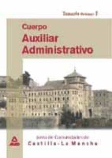 Viamistica.es Cuerpo Auxiliar Administrativo Junta De Comunidades Castilla La M Ancha (Vol. 1): Temario Image
