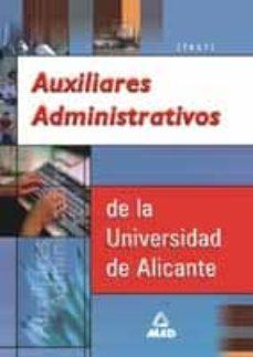 Ojpa.es Auxiliares Administrativos De La Universidad De Alicante: Test Image