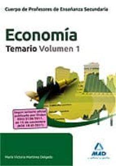 Costosdelaimpunidad.mx Cuerpo De Profesores De Enseñanza Secundaria. Economia. Temario. Volumen 1 Image