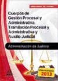 Ojpa.es Cuerpos De La Administracion De Justicia: Cuerpo De Gestion Proce Sal Y Administrativa Y Cuerpo De Auxilio Judicial: Simulacros De Examen Image