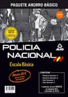 Alienazioneparentale.it Paquete Ahorro Básico. Escala Básica De Policía Nacional (Temario Volumen 1 Y 2, Test Volumen 1 Y 2, Acceso Gratis A Campus Oro) Image