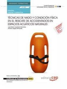 Padella.mx (Uf1499/mf1083_2) Manual. Técnicas De Nado Y Condición Física En El Rescate De Accidentados En Espacios Acuáticos Naturales . Image