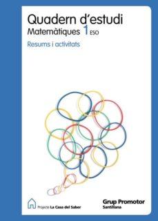 Inmaswan.es Quadern Estudi Matem Catal Ed.2010 1º Eso Image