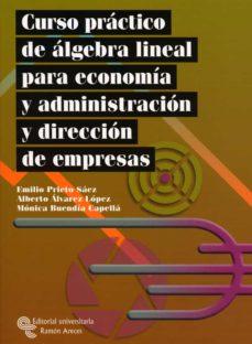 Trailab.it Curso Practico De Algebra Lineal Para Economia Y Administracion Y Direccion De Empresas Image