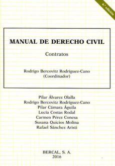 Descargar MANUAL DE DERECHO CIVIL : CONTRATOS gratis pdf - leer online