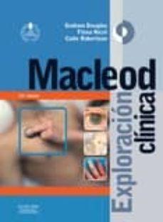 Descargar libros electrónicos en formato de texto libre. MACLEOD: EXPLORACIÓN CLÍNICA 13ª ED.