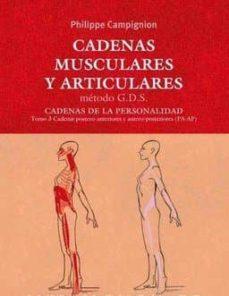 Ebooks gratis descargar rapidshare CADENAS MUSCULARES Y ARTICULARES 9788494138324 RTF MOBI en español de PHILIPPE CAMPIGNION