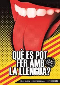 què es pot fer amb la llengua?-felix rueda-9788494396724