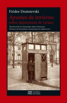 Descargar libros de epub para ipad APUNTES DE INVIERNO SOBRE IMPRESIONES DE VERANO in Spanish 9788494664724 DJVU iBook