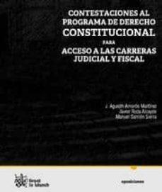 Chapultepecuno.mx Contestacion Al Programa De Derecho Constitucional Para Acceso A Las Carreras De Judicial Y Fiscal Image