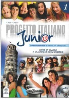Descarga gratuita de libros de ipad. PROGETTO ITALIANO JUNIOR 1 -LIBRO + CD + DVD ePub en español de  9789606930324