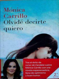 Libro Pdf Olvidé Decirte Quiero Pdf Collection
