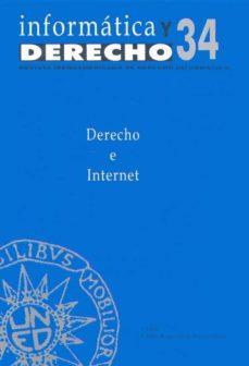Mrnice.mx Informatica Y Derecho Nº 34: Derecho E Internet (Ponencias) Image